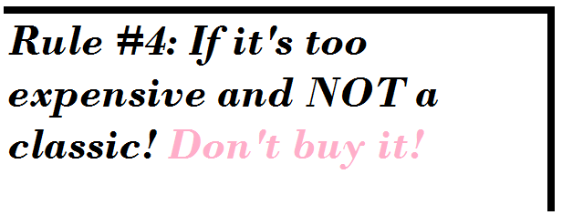 shopping advice